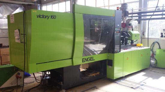 Engel Victory 750/160 Tech 160 Ton CNC Horizontal Plastic Injection