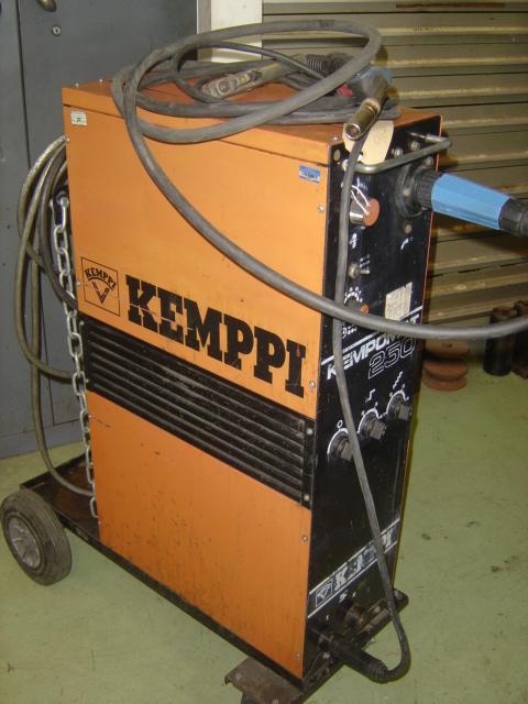 Kemppi Kempomat 250 Mig Welder For Sale Machinery