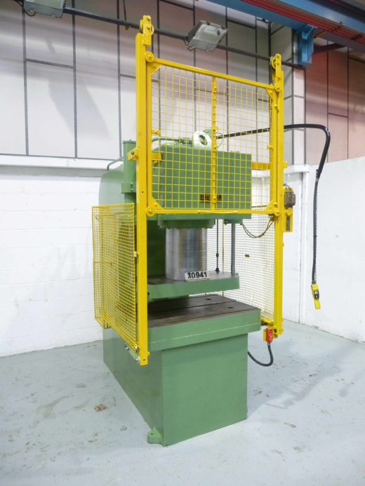 150 ton C Frame Hydraulic Vertical Press for sale