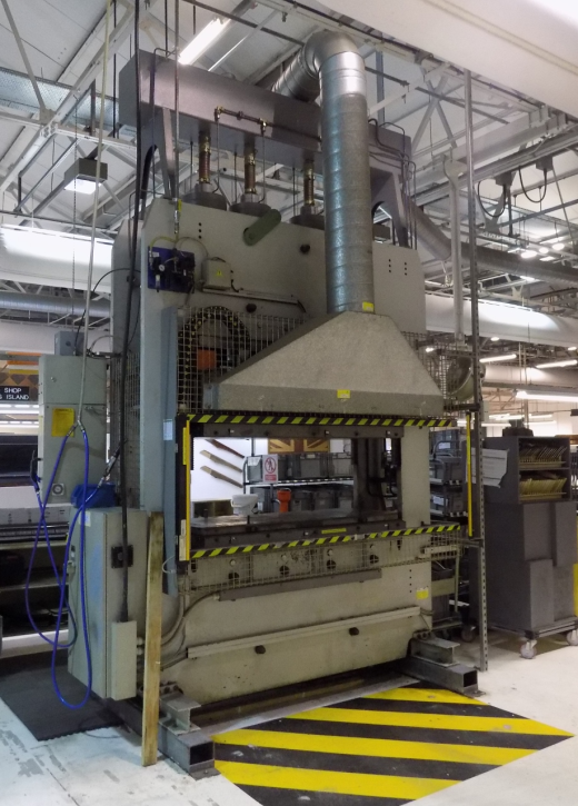 Italpresse 400 Ton Hydraulic Press For Sale Machinery