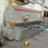 3000mm x 10mm Hydraulic Guillotine with Power Back Gauge, Squaring Arm and Front Supports.