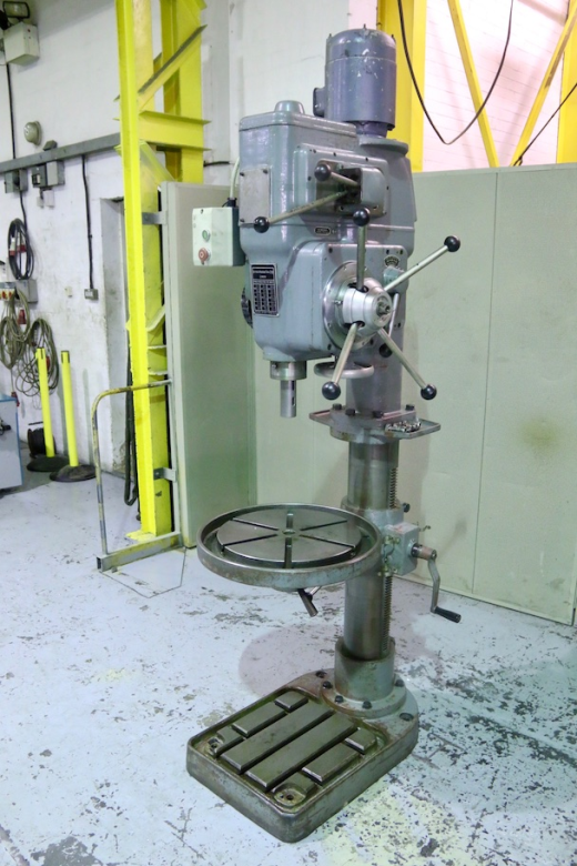 Elliott Progress 4E Geared Head Pillar Drilling Machine ...