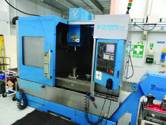 Dugard Eagle 1000 Cnc Vmc For Sale Machinery Locator Com