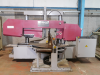 Double column Semi Automatic Horizontal Mitring Bandsaw.  Capacity 360mm dia or  360mm x 704mm.  Manufactured 2000