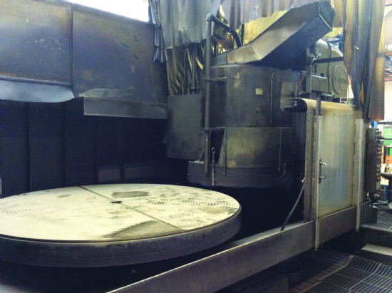 Vertical Rotary Surface Grinder Blanchard Magnetic Table 2