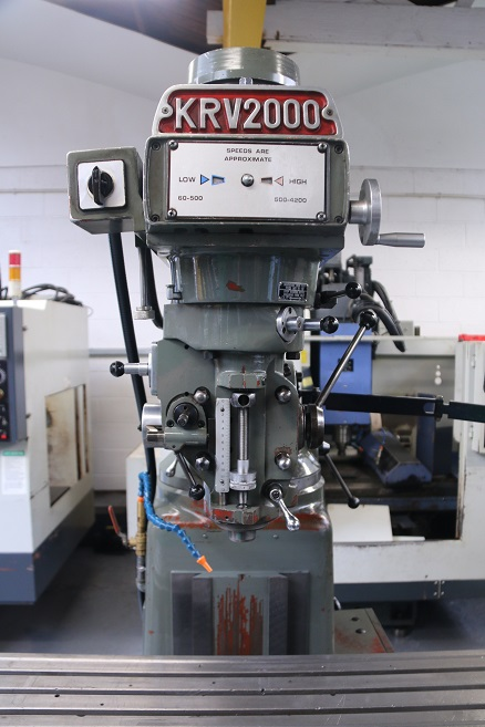 XYZ KRV 2000 Turret Milling Machine for sale : Machinery ...