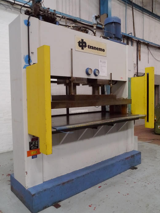 100 Ton Hydraulic Press with Sick Lightguards for sale