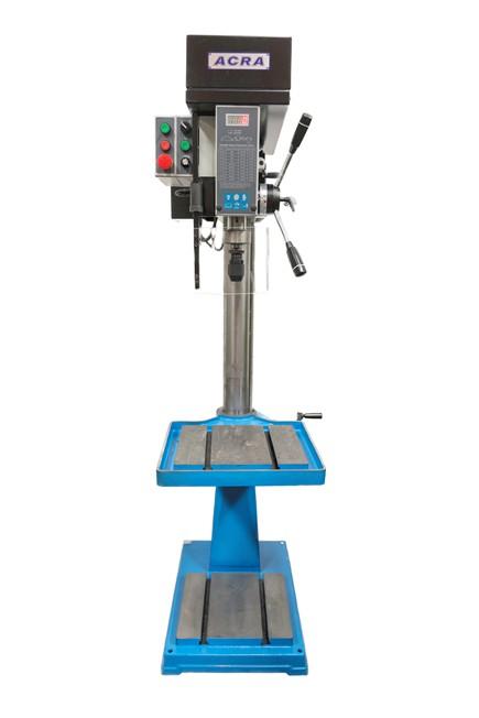 Acra New Pillar Drill Rf 19v Variable Speed For Sale