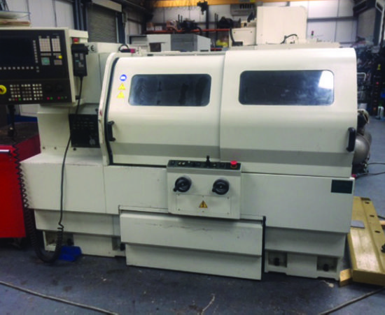 Ecoca 4610 Manual Cnc Lathe With Siemens 810d Control
