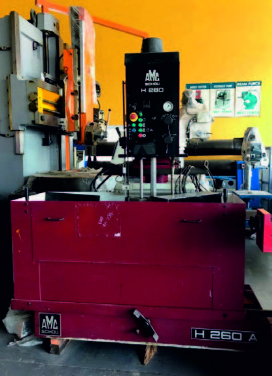 Amc Cylinder Honing Machine Model H 260a For Sale