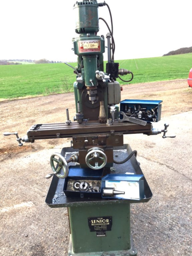 Tom Senior Mill With S Type Vertical Head For Sale