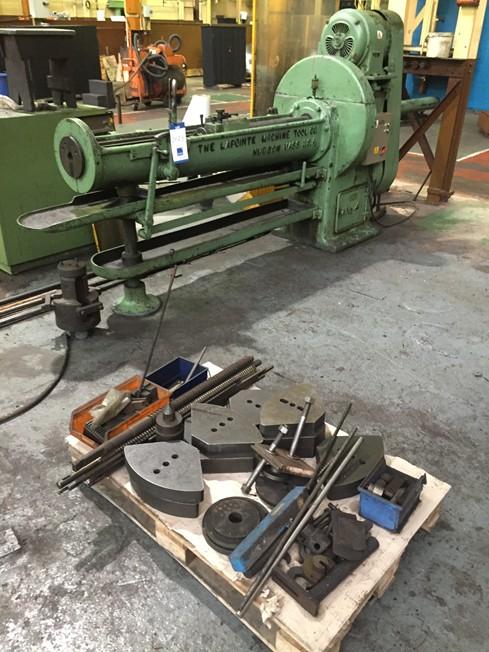 Lapointe No 4 Horizontal Broaching Machine With Broaching