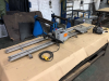 Gullco Auto-weld Automation Carriage - Rigid Track Straight Line Burner, (2) Track Length 96 and 92