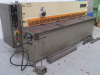 2500mm x 4mm hydraulic Guillotine, with power baack gauge,