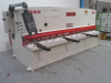 3200mm x 8mm hydraulic  Guillotine. Manufactured 2014.  With NC Back Gauge.