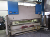 160 Ton x 3000mm hydraulic downstroke Press Brake.  With Sick Light Guards