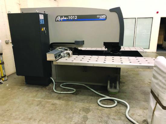 LVD Strippit Alpha 1012 Punch Press for sale : Machinery-Locator com