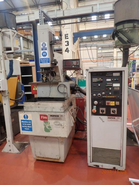 3 axis DRO. Table 350mm x 550mm. 50A Mark 2 controller. , (1985), Located Barrow