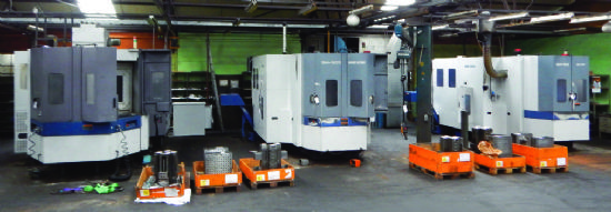 """Mori Seiki"" SH500, NH5000/50, SH633, SH-50 and MH-50"