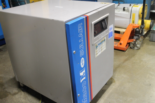 Maco M Sullair 1107 Compressor, 1989, Ser No 1974, 60cfm,11kw, 10 Bar