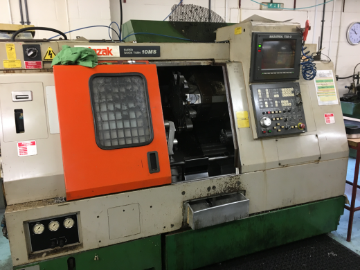 Mazak Super Quick Turn 10MS, s/n 105763, Mazaktrol T32-3, 8