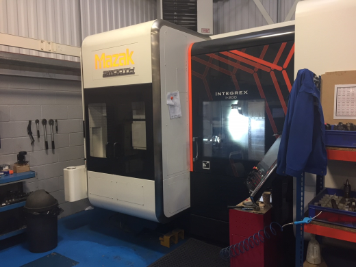 Mazak Integrex i200 CNC Turning Centre, 2016, s/n274032, Mazak Smooth Tech control, 1,000mm bed, 72