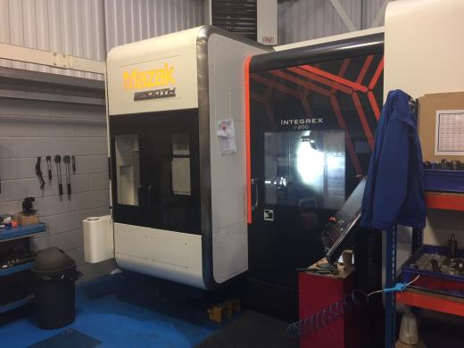 Mazak Integrex i200 CNC Turning Centre, 2016, s/n274032, Mazak Smooth Tech control, 1,000mm bed, 72