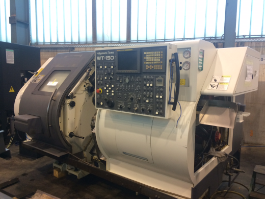 Nakamura WT150, 2005, s/n M154406, Fanuc 18iT control,opposed spindles, Twin turrets, 2 x 12 stn, dr