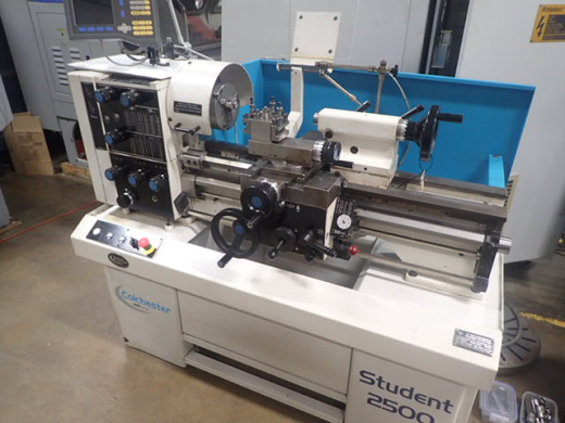 Colchester Student 2500 Gap Bed Lathe x 40