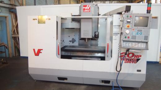 Haas VF3, 2000, s/n 22710, HRT160 4th axis,table 1219 x 457mm, trav 1016 x 508 x 635mm, 7500rpm, 20a