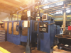 WEBSTER & BENNETT 48in ERNC CNC Elevating Rail Vertical Borer with NUM Control