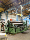 3000mm x 31mm 4 Roll Bending Rolls.  NC Controlled, with Top Steady and Side Support.