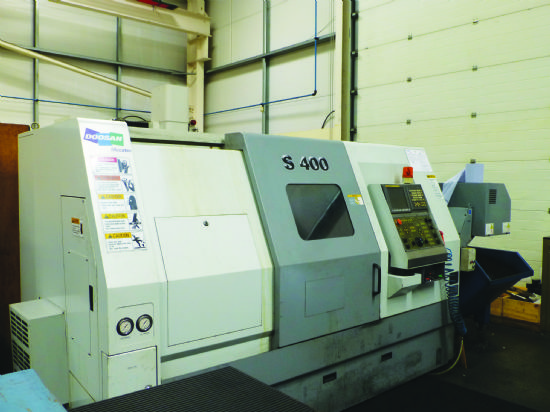 2008. Fanuc Oi-Tc CNC control with Manual Guide i easy programming, 75mm spindle bore, with hydrauli