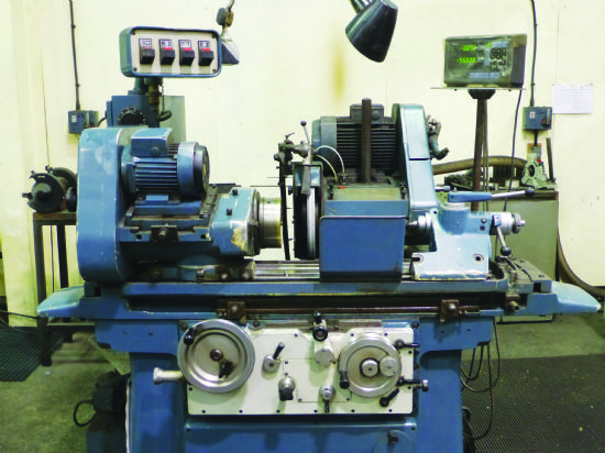 2-axis Mitutoyo DRO, fully universal machine 