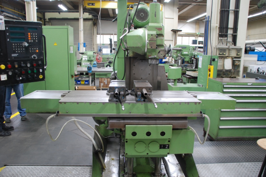 Horizontal Milling M/C