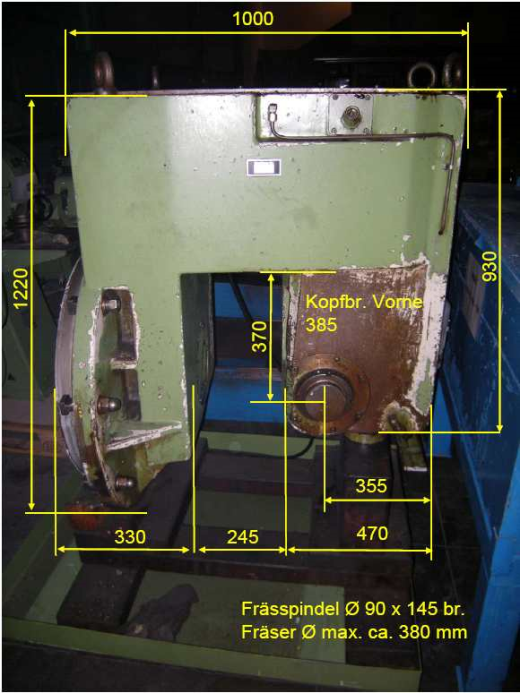 Milling Head 