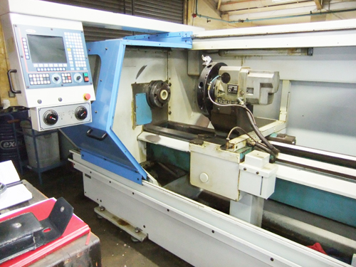 EXCEL  TAURUS 520 CNC LATHE Model C 260 ( Metosa Taurus ) 80mm Spindle Bore : 8 Station Duplomatic T
