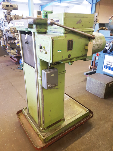 CARDINAL TM7 VERTICAL BROACHING MACHINE Max. Pulling Capacity 7 Tons : Max. Stroke 36