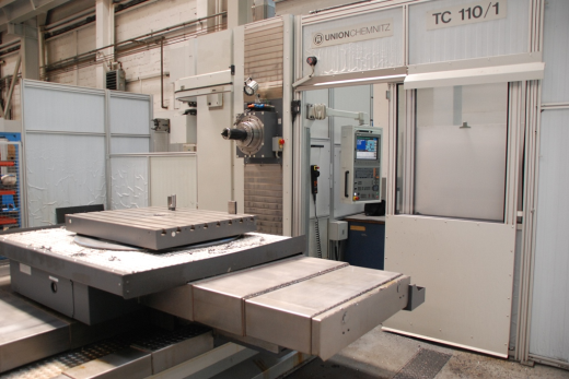 UNION Table-Type Boring and Milling M/C TC 110/1  Technical details spindle diameter110 mm x-tr