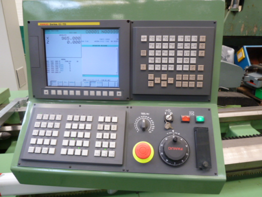 Swift 21d Heavy Duty Cnc Lathe With Fanuc Oi Td Control