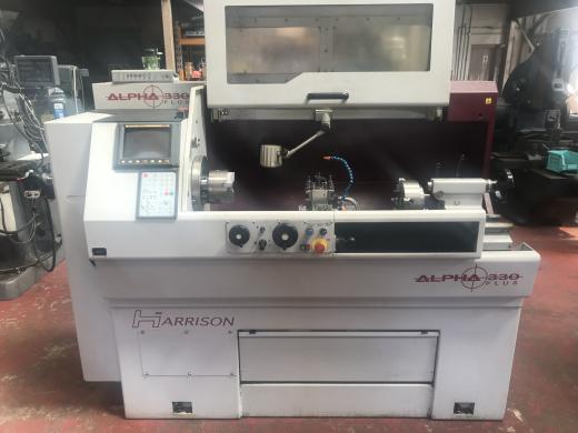 Harrison Alpha 330 Plus Electronic Centre Lathe For Sale