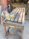 T SLOTTED WELDING BENCH