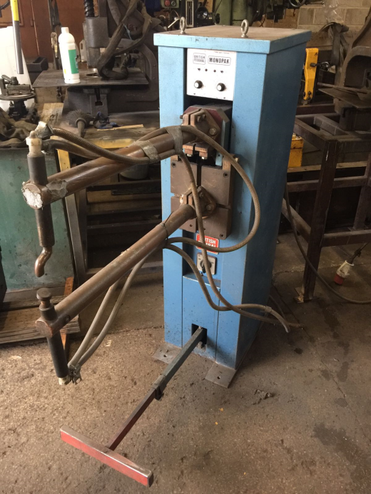 BRITISH FEDERAL 30KVA WATER COOLED SPOT WELDER.