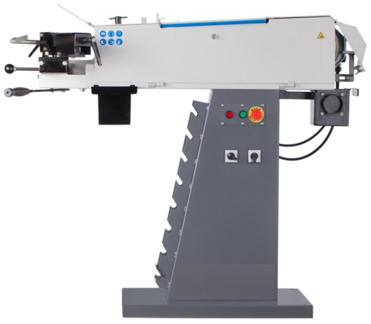 New abrasive Belt tube notcher 