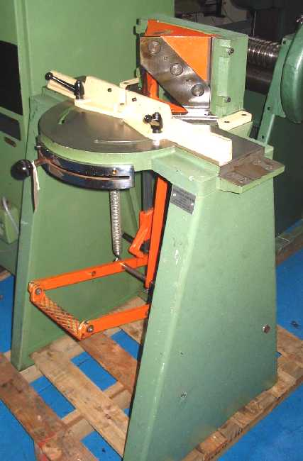 ORTEGUIL model: 110/86 PEDAL OPERATED PICTURE FRAMERS TWIN MITRE CUTTER	