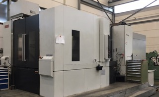 Twin Pallet Horizontal Machining Centre  MSX-701 MAPPS III Control X/Y/Z axis 1400/1200/1350 mm