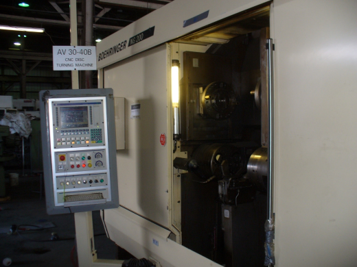 Machine Type: Boehringer NG200 Turning Centre