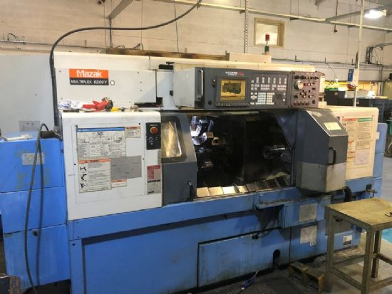 Complete with Multifeed barfeed system model ML1. This machine is well equipped with Driven tooling