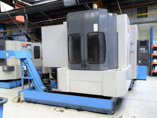 Twin Pallet Horizontal Machining Centre  Mazatrol Fusion 640 M Control X/Y/Z 560/610/560 mm Pal