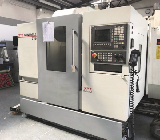 8,000RPM, BT40 spindle, 